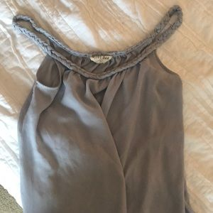 Olive and oak tank size S